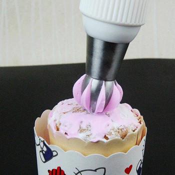 Накрайник за декориране на торта от неръждаема стомана