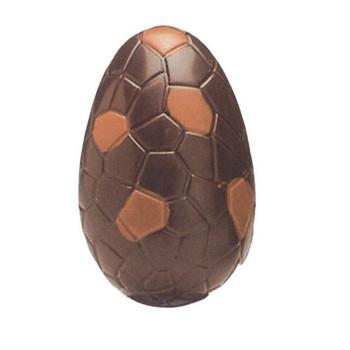 3D форма за изработка на шоколадови яйца с размер 10.5*7*7 см
