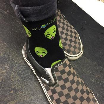 Ежедневни унисекс чорапи с шарка подходящи за жени и мъже