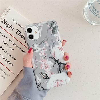Калъф за iPhone 11 с флорален десен