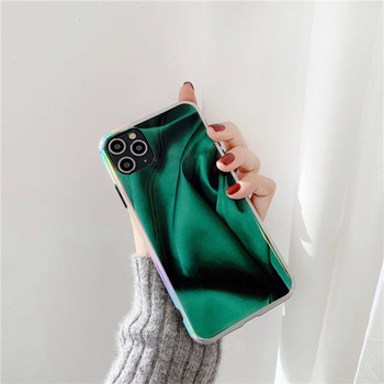 Силиконов калъф в зелен цвят за iPhone 11 Pro Max