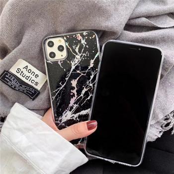 Калъф с мраморен ефект за iPhone 11 Pro Max