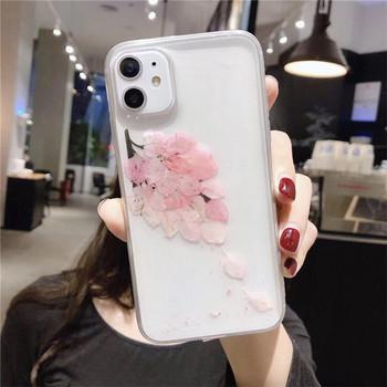 Калъф за iPhone 11  с листа