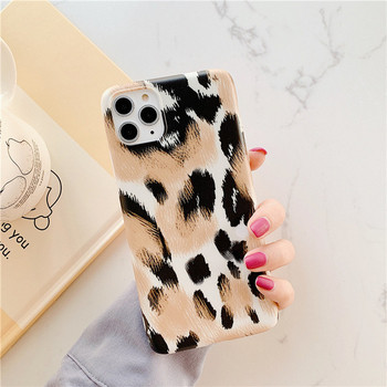 Калъф за iPhone 11 Pro Max с леопардов десен