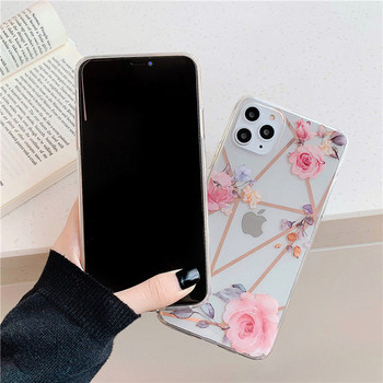Калъф за iPhone 11 Pro Max  с цветя - два модела