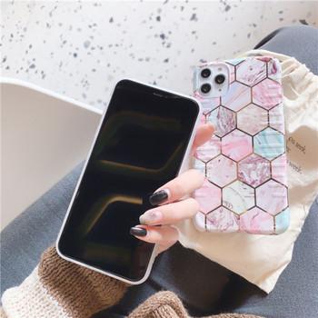 Калъф за iPhone 11 Pro Max с геометрични фигури