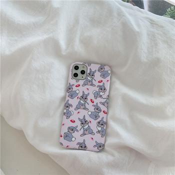 Калъф за iPhone 11 Pro Maxx  със заек в розов цвят