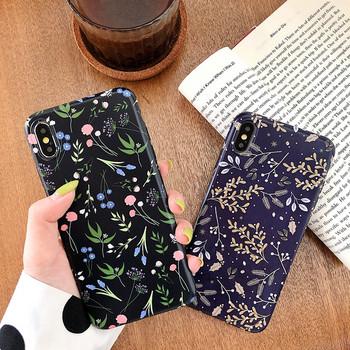 Калъф за iPhone XS с флорален десен - два модела
