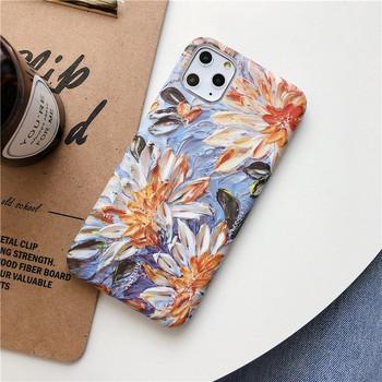 Калъф за iPhone 11 Pro Max с флорален десен