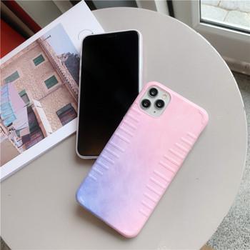 Калъф за iPhone 11 Pro Max в преливащи цветове