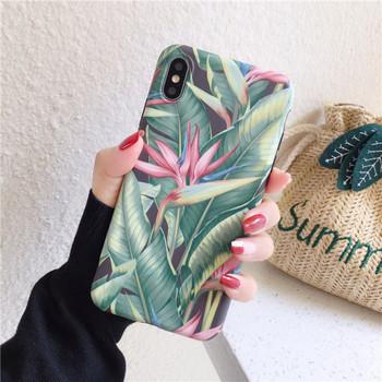 Многоцветен калъф с флорален десен за iPhone XS - два модела