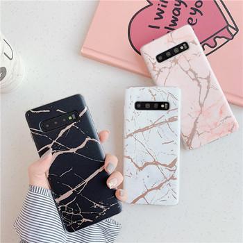 Калъф с мраморен ефект за  Samsung S10