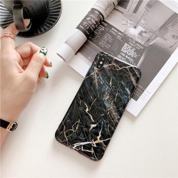 Калъф с мраморен ефект за  iPhone XS