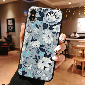 Калъф за iPhone XS с цветя - два модела