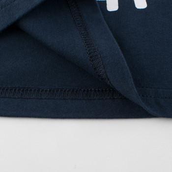 Модерна детска тениска с апликация и къс ръкав