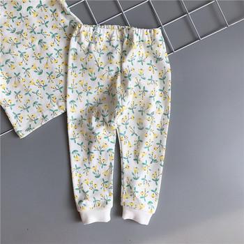 Нов модел детска пижама от две части за момичета