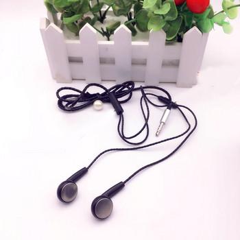 Слушалки тапи Stereo Q5   с  микрофон в  черен цвят