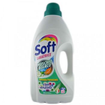 Soft - течен перилен препарат - 2,5л за 45 пранета