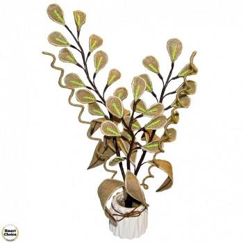 Сувенир - Ръчно изработено цвете Фикус 47 см. Модел DM-9087