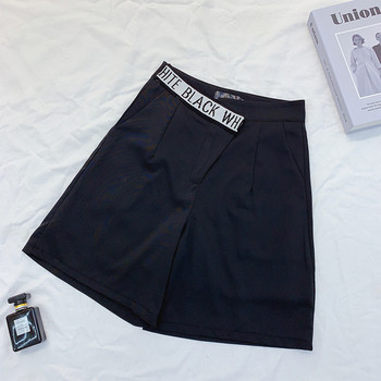 Ежедневни дамски къси  панталони с висока талия