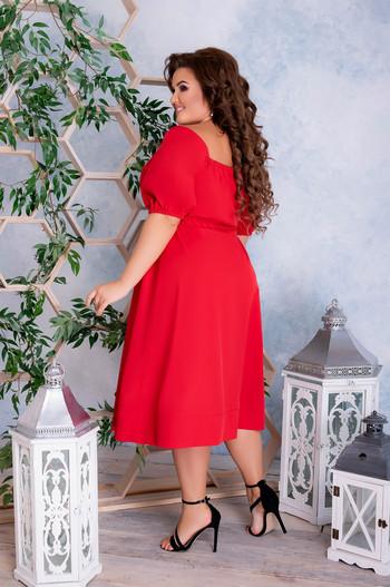 Лятна рокля под коляното
