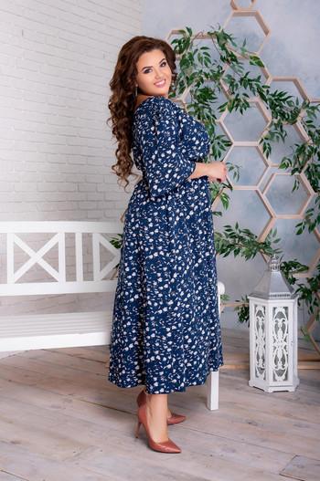 Дълга рокля на цветя