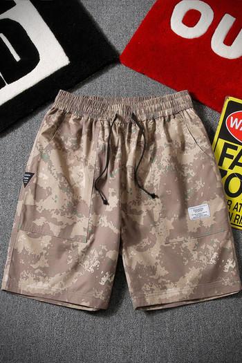 Плажни мъжки панталони с джобове и връзки - два модела