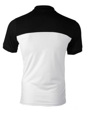 Slimfit Мъжка поло пике тениска с яка 1274_2