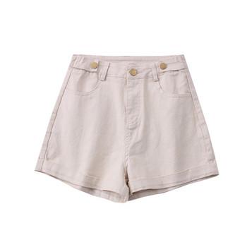 Модерни дамски къси панталони - висока талия