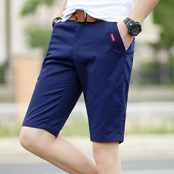 Мъжки панталони с 3/4 дължина и джобове