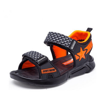 Ежедневни детски сандали за момчета с лепки
