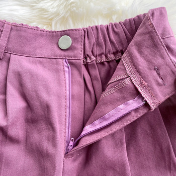 Къси дамски  панталони с висока талия