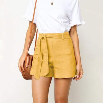Нов модел къси модерни панталони с колан