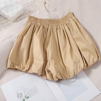Ежедневни  дамски къси панталони с ластик