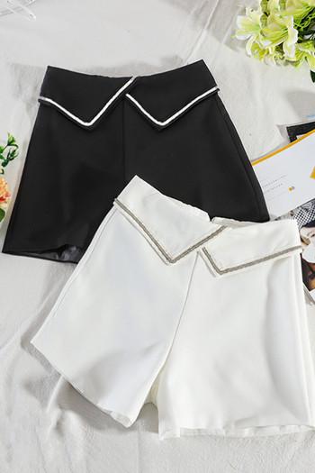 Стилни дамски къси панталони с висока талия