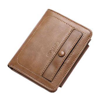 Мъжки актуален портфейл от еко кожа
