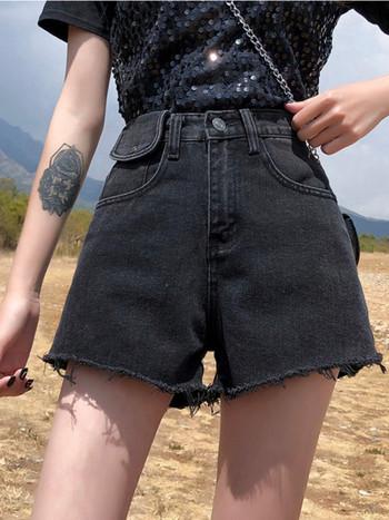 Дамски къси дънки -класически модел