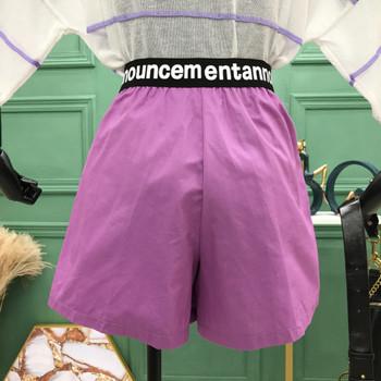 Ежедневни къси дамски панталони с надписи