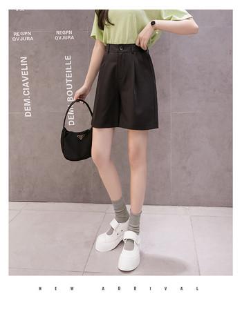 Дамски ежедневни  къси панталон ретро модел