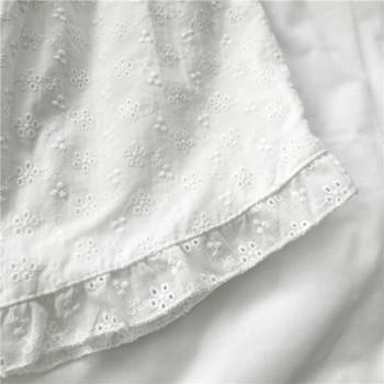 Къси дамски панталони с еластична талия