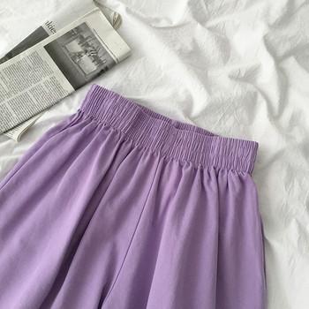Ежедневни къси панталони с висока талия