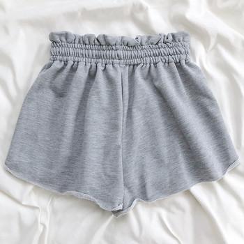Ежедневни къси панталони с връзки и еластична талия