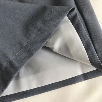 Модерни къси панталони с висока талия и копче