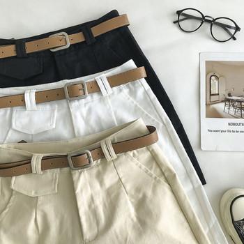 Ежедневни къси панталони с джобове и колан