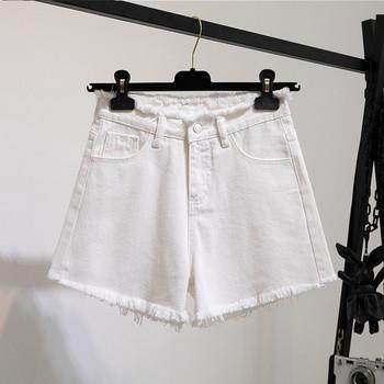 Нов модел къси дънки с висока талия