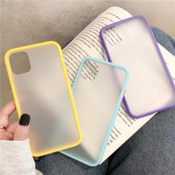 Цветен силиконов калъф за Iphone 11