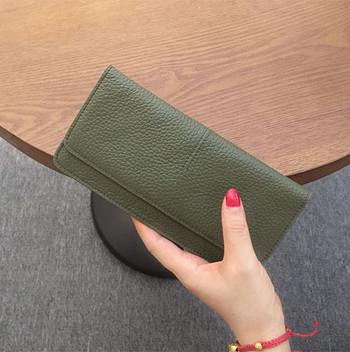 Γυναικείο casual πορτοφόλι από οικολογικό δέρμα