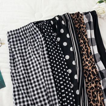 Ежедневни дамски дълги панталони с ластик на глезена - няколко модела