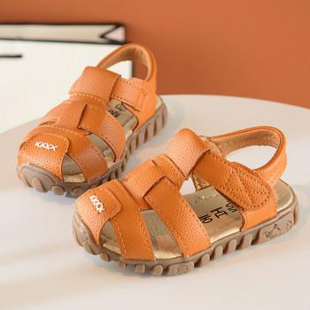Нов модел летни детски сандали от еко кожа