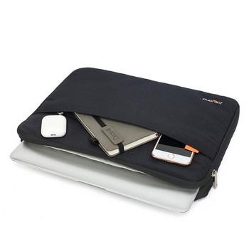 Чанта за лаптоп от текстил с цип